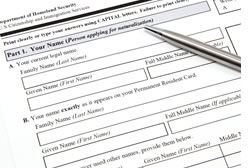 Immigration Forms Preparation
